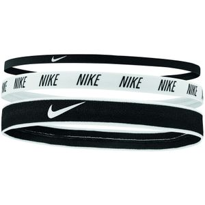 Nike 9318/72 Mixed Width Headbands 3Pk 4012 930 Black/White/Black -