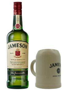 Jameson Irish Whiskey mit Steinkrug (1Stk.) 0,7 L