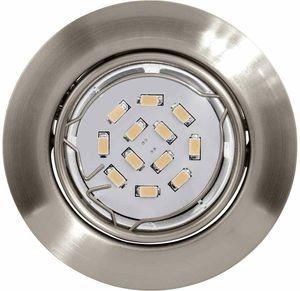 EGLO PENETO LED Einbaustrahler, schwenkbar, GU10 nickel-matt,GU10,A+,94242