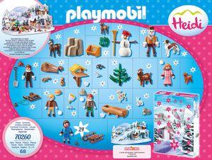 """PLAYMOBIL Adventskalender """"Heidis Winterwelt"""""""