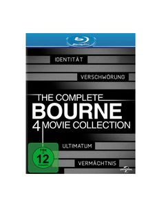 Burns, S: Complete Bourne 4 Movie Collection