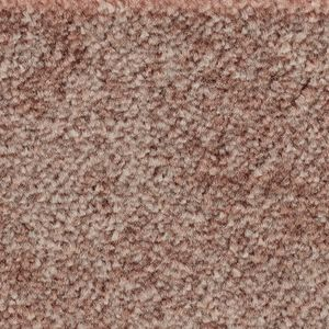 Teppichboden, Auslegware, Meterware, 400 cm x 450 cm, altrosa, Schlinge