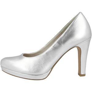 Tamaris Damen Pumps Plateau High Heel 1-22426-26, Größe:41 EU, Farbe:Silber