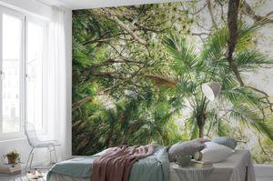 "Komar Vlies Fototapete ""Touch the Jungleÿ"" - Größe: 450 x 280 cm (Breite x Höhe) - 9 Bahnen"