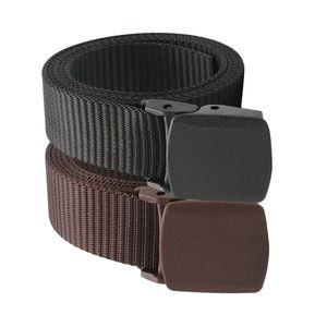 2 Stück Nylon Herrengürtel, Gürtel Herren Stoffgürtel mit Schiebeschnalle für Männer Jeans Anzug, 32mm breit