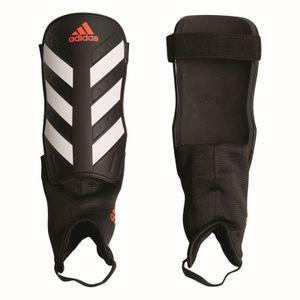 adidas Schienbeinschützer Everclub schwarz weiß rot, Größe:XS (120-140)