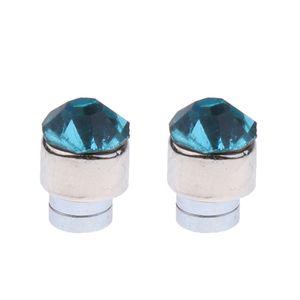 12pcs Mischfarbe Magnetische Ohrringe Ohrstecker Ohrschmuck Magnet Punk Mehrfarbig 5mm Magnetisch