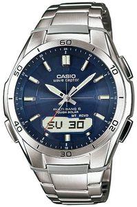 Casio Herren Uhr WVA-M640D-2AER Funk Solar Armbanduhr