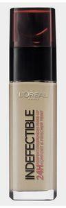 L'Oreal Make-Up Indefectible 220 Sand Foundation 30ml 24H