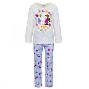 Disney Die Eiskönigin Schlafanzug, weiß, Gr. 104-128 Größe - 5 Jahre