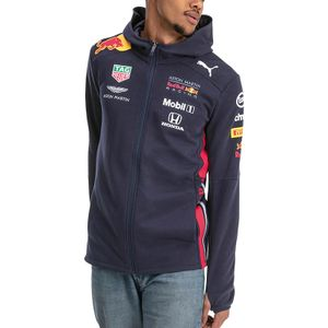 PUMA - Aston Martin - Red Bull Racing - Herren Team Kapuzen Sweater Jacke 2019 - Night Sky - Größe: XXL