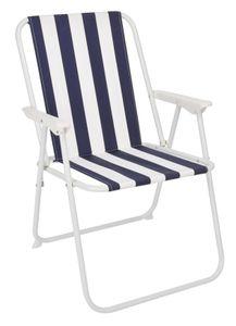 Piccolo-Klappstuhl - Farbe: blau/weiß