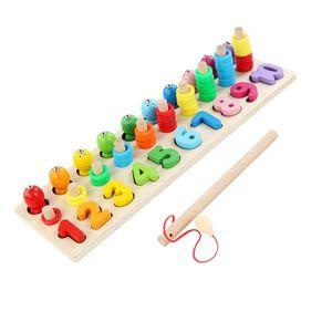 Montessori Mathe Zahlen Angeln Angelspiel Mathespiele für Zuhause Kindergarten
