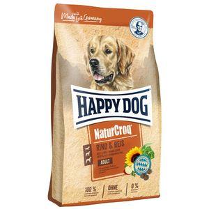 Hundefutter Trockenfutter Happy Dog NaturCroq Rind & Reis 15kg