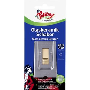 Poliboy Glaskeramik Schaber mit versenkbarer Klinge 1 Stück