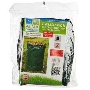 Laubsack Gartentonne mit Tragegriff 120 l. * Laub - Behälter