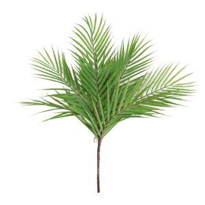 Künstliche Palmenblätter Pflanzen Indoor Haus Garten Büro Hochzeit Dekoration Farbe Grün