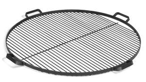 CookKing 111271 Grillrost mit 4 Griffen aus Rohstahl 60cm