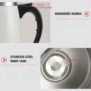 Selbstruehrender Becher 450ml Kaffeetasse Edelstahl Inneres automatisches Mischen von Kaffee Tee Heisser Schokoladenmilch-Protein-Shake fuer Home-Office-Reisen