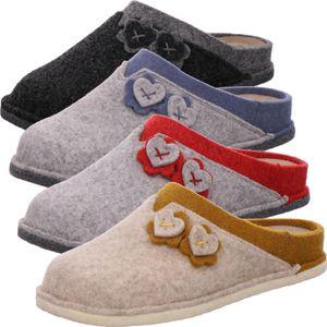 Rohde Damen Hausschuhe Pantoffeln Lucca 6822, Größe:39 EU, Farbe:Grau