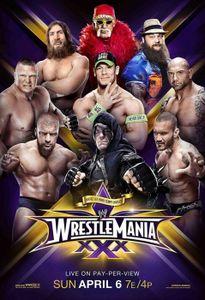 WWE WrestleMania 30, DVD, Sport, 2D, Deutsch, Englisch, Französisch, 521 min, 3 Disks
