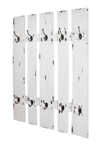 Haku Wandgarderobe weiß - Maße: 65 cm x 9 cm x 100 cm; 32350