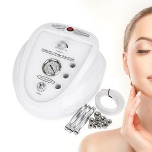 3 in1 Profi Diamant Gesichtpflege Weiß Microdermabrasion Diamant Dermabrasion Maschine Microdermabrasion Gerät Diamant Peeling