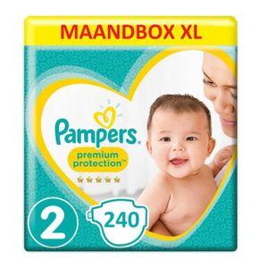 Pampers Premium Protection New Baby Größe 2 Mini 4-8kg MonatsBox, 240 Windeln