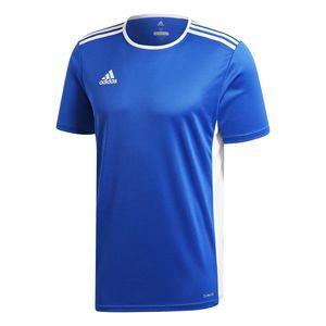 adidas ENTRADA 18 Herren Trikot T-Shirt Blau, Größe:M