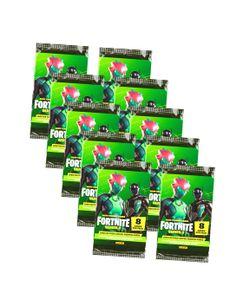 Panini Fortnite Karten Hobby Serie 2 (2020/2021) - Fortnite Trading Cards Sammelkarten - 10 Booster