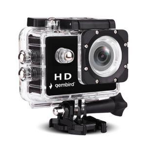 Gembird HD Action-Kamera 1080p - wasserdicht mit Mikrofon - Action-Kamera wasserdicht