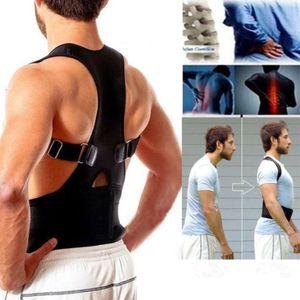 Geradehalter Rückenhalter Rückenstabilisator Haltungskorrektur aus Neopren Neu