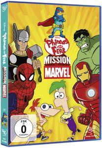 Phineas und Ferb - Mission Marvel DVD