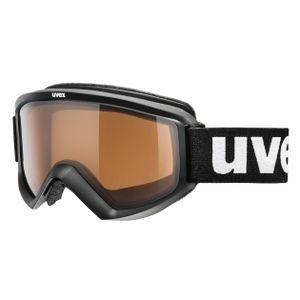 UVEX Skibrille Fire Pola black dl/pola/clear -