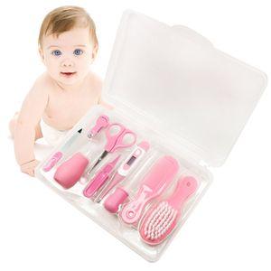 Baby-Pflegeset, 9-teiliges Baby-Pflegeset für Mädchen, Neugeborene