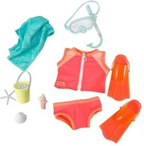 Our Generation - Under the Sea - Taucher Outfit für Puppe 46 cm