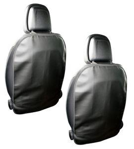 2x Rückenlehnenschutz Sitzschutz Rücksitzschoner Kunstleder Rückenlehne Kinder