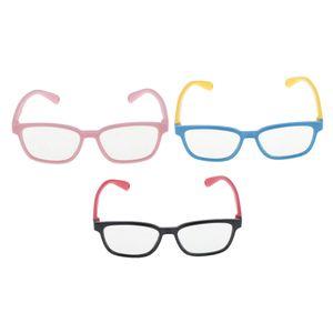 3X Kinderbrille Anti Blau Hellblau Licht Kinderspielbrille