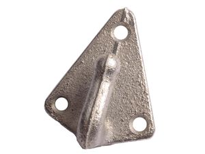 Dreiloch Planenhaken, verzinkt
