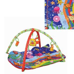Moni Spielbogen Baby Like 143A, Unterwasserwelt, 5 Spielsachen, Wachstumsskala