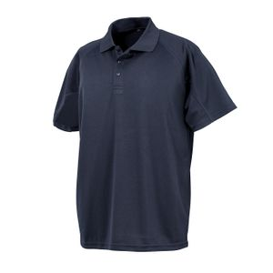 Spiro Uni Erwachsene Impact Performance Aircool Polo Shirt PC3503 (XL) (Marineblau)