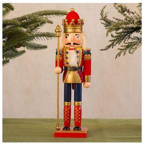 Nussknacker Soldat Marionette Weihnachten 30CM Weinkabinett Dekoration CZZ201013003PK