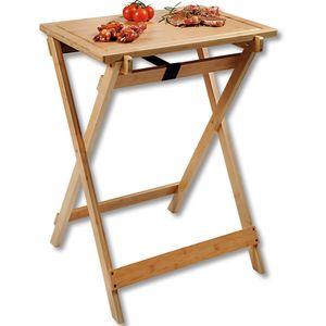 Kesper BBQ-Tisch, zusammenklappbar, 60 x 45 cm, H: 79 cm 58275-13