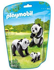 PLAYMOBIL 6652 - 2 Pandas mit Baby