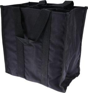 GENIUS Flaschentasche schwarz schwarz Kunststoff