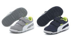 Puma Stepfleex 2 SD V Inf Kinder Baby Schuhe Sneaker , Größe:EUR 24 / UK 7 / 15 cm, Farbe:Blau (Peacoat)