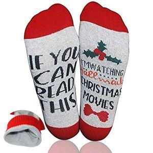 Weihnachtssocken Bierflaschen Verpackung Geschenk Socken Baumwoll-Socken Lustige Socken Bestes Geschenk für Weihnachten Valentinstag