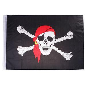 60x90cm Piratenfahne Piraten Flagge aus Polyester