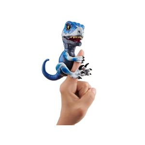 Fingerlings Untamed - Raptor Frostbite interaktives Spielzeug Dinosaurier