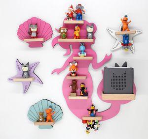 """BOARTI® """"Kollektion Meerjungfrau, pink""""- das Regal für die Musikbox"""